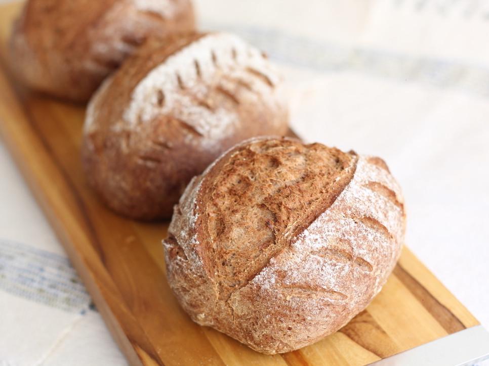 Pão australiano com fermentação natural sem glúten