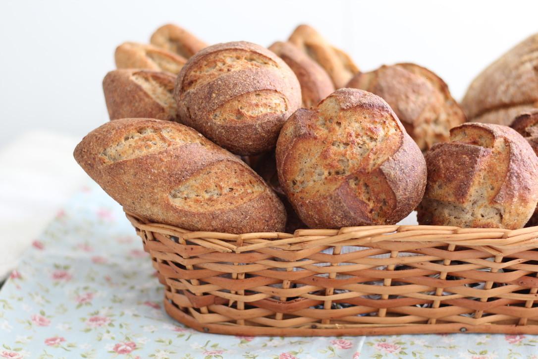 Pão tipo italiano com fermentação natural sem glúten