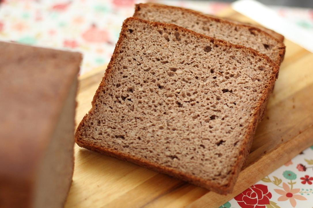 Pão lowcarb com fermentação natural sem glúten