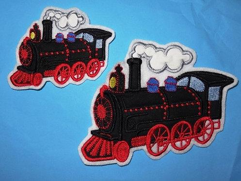 Lok Dampflok Eisenbahn Aufnäher