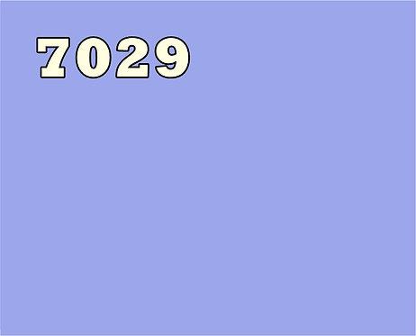 Baumwolle uni einfarbig 7029 mittelblau / hellblau