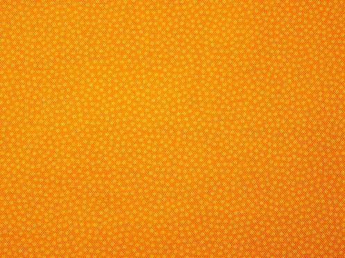 Mini Punkte dunkelgelb Baumwolle Meterware Baumwollstoff