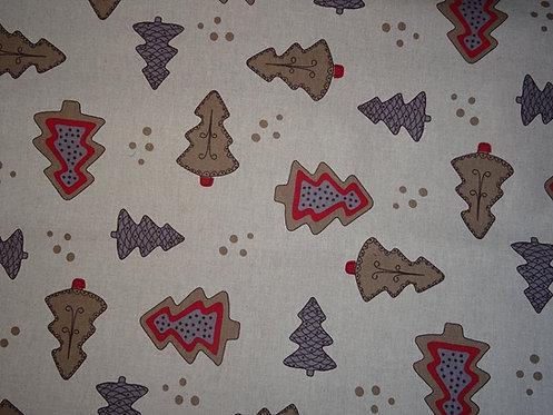 Canvas Lebkuchenbaum  Weihnachten Baumwolle Meterware L