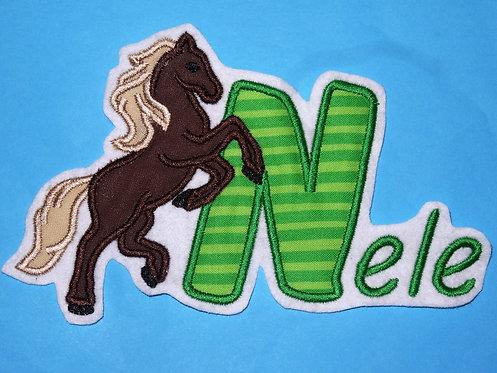 Pferd mit Name