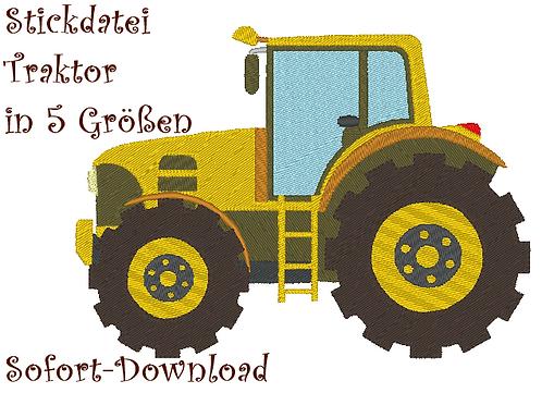 Traktor Stickdatei