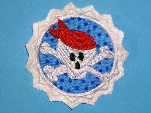 Totenkopf Pirat Aufnäher