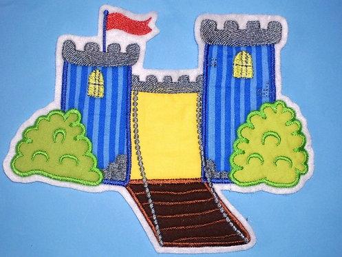 Ritter Burg Aufnäher