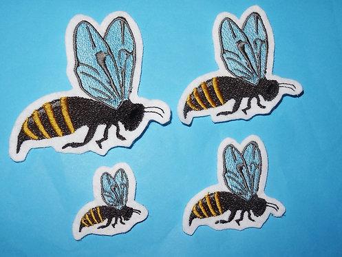 Biene Aufnäher