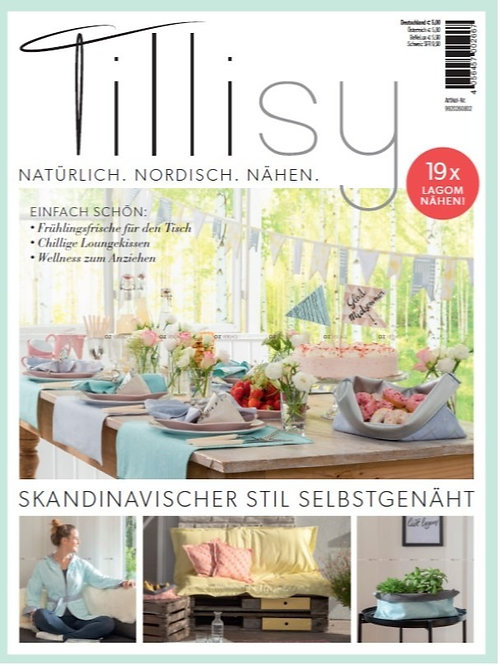 Tillisy 19 Projekte Schnittmuster Zeitung Wohndeko