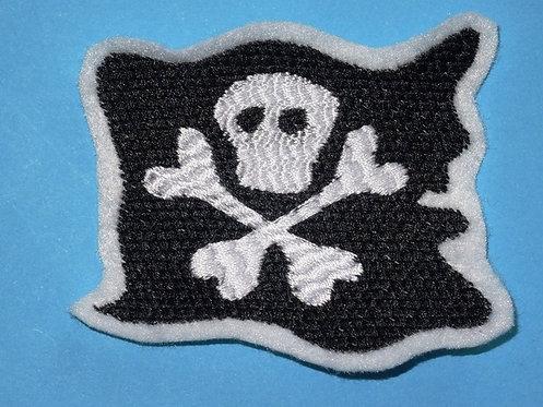 Piraten Flagge Aufnäher