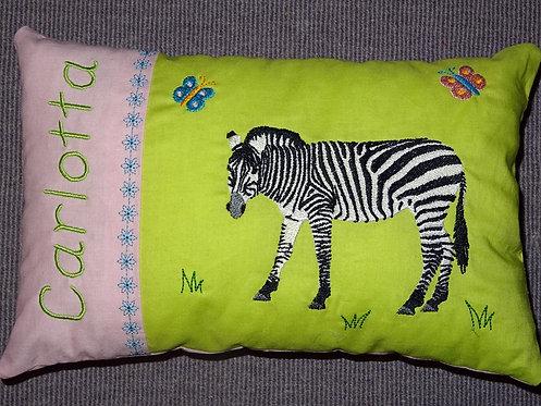 Zebra inkl. Kissen ITH Stickdatei