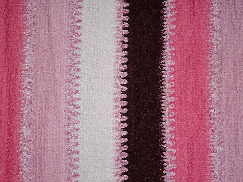 Kuschel Stoff Acryl Patchwork Meterware rosa bordeaux