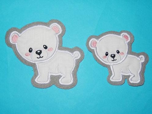 Eisbär Aufnäher