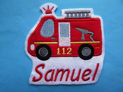 Feuerwehr mit Name