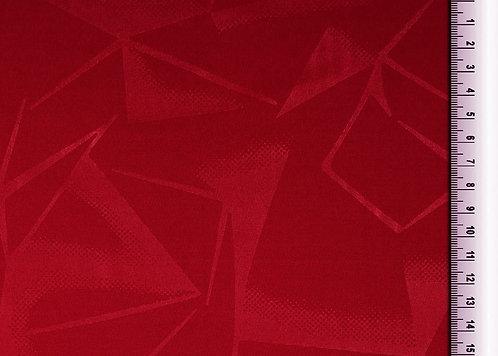 Funktionsjersey mit grafischem Muster uni dunkelrot Meterware Polyester Stretch