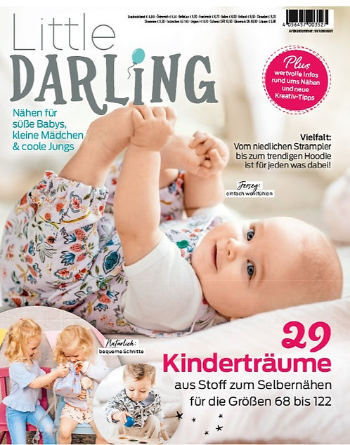 Little Darling Baby & Kleinkind 29 Projekte Schnittmuster Zeitung