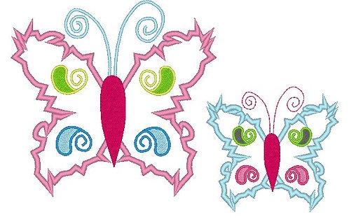 Stickdatei Schmetterling