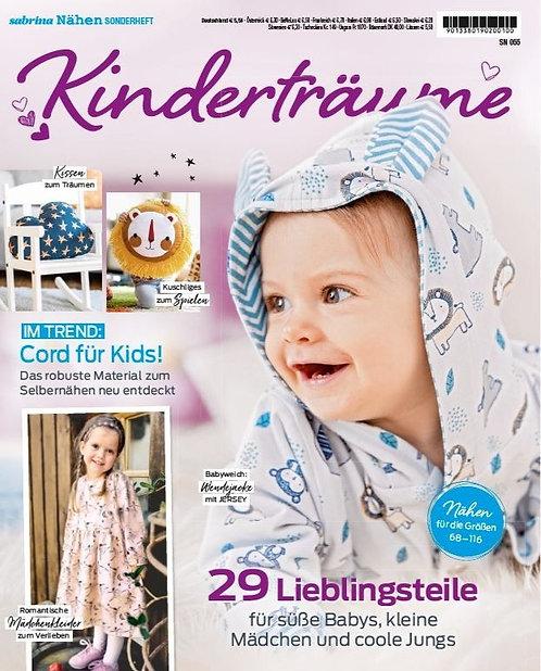 Sabrina nähen Kinderträume Baby & Kids 29 Projekte Schnittmuster Z