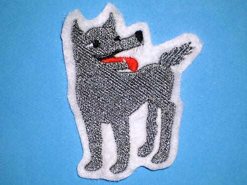 Wolf Aufnäher