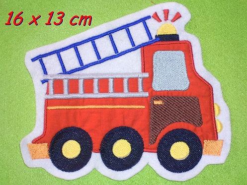 XL Feuerwehr Aufnäher