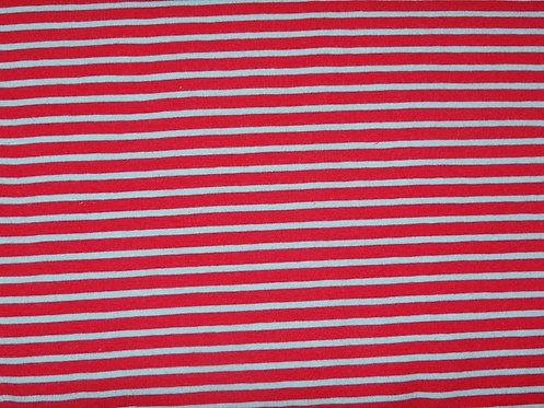 Jersey Streifen pink hellblau Meterware gestreift Ringel