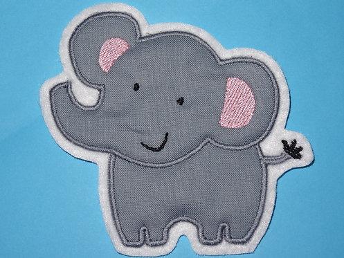 Elefant Aufnäher