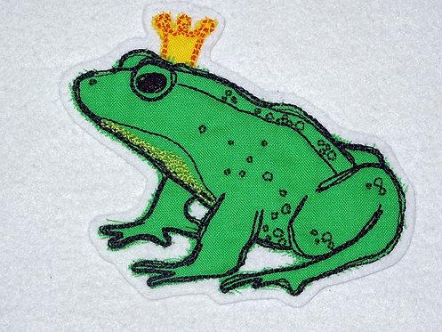 Scribble Kritzel Frosch Froschkönig Stickdatei Doodle