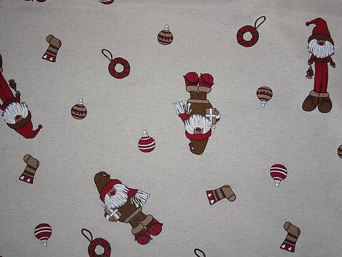 Canvas Wichtel Zwerg Stiefel Weihnachten Baumwolle Meterware L