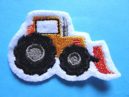 Mini Radlader Aufnäher