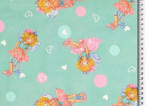 Canvas Prinzessin Lillifee 100 % Baumwolle Meterware Digitaldruck
