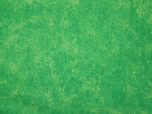 Baumwolle grün meliert gefleckt