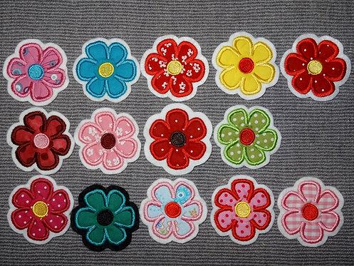 Blumen in Wunschfarbe 5,5 cm oder 10cm
