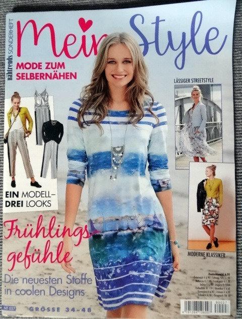 Nähtrends Sonderheft Mein Style Schnittmuster Zeitung Gr.34-48