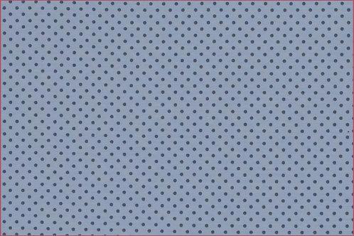 Punkte 2mm hellblau grau Jersey Baumwolljersey Meterware