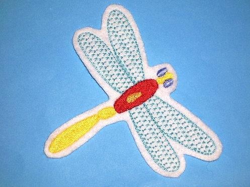 Libelle Aufnäher