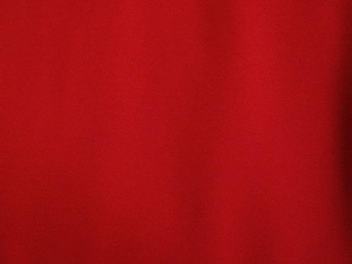 Chiffon matt Meterware rot für Kleider