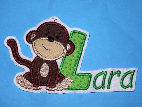 Affe  mit Name