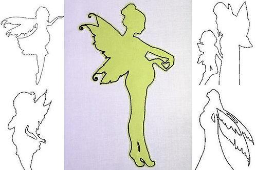 Fee schwanger Doodle Stickdatei 11 Motive in 6 Größen