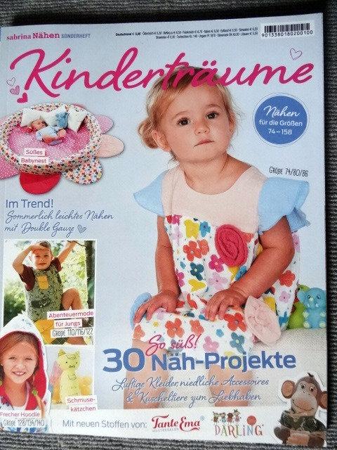 Sabrina nähen Kinderträume Baby und Kids 30 Projekte Schnittmuster Z