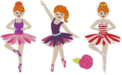Ballerina Stickdatei