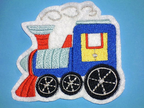 Lok Eisenbahn Aufnäher