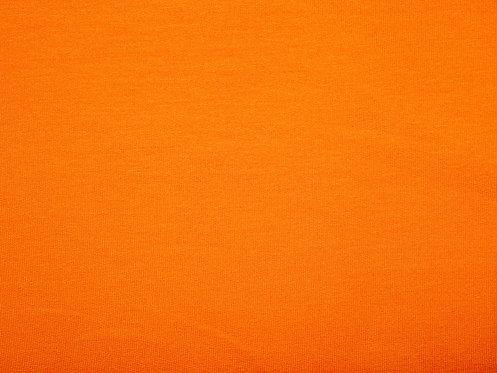 Sommersweat French Terry Sweat uni orange Meterware