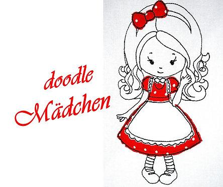 Mädchen Stickdatei ♥ sweet Girl ♥ Goldlöckchen