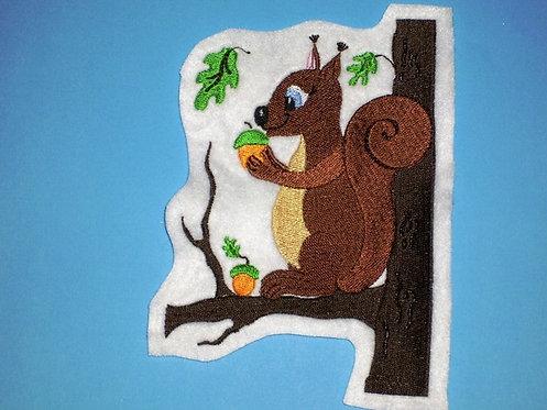 Eichhörnchen Aufnäher