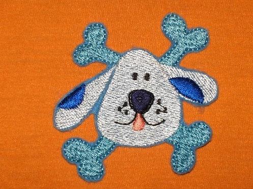 Piraten Hund Aufnäher
