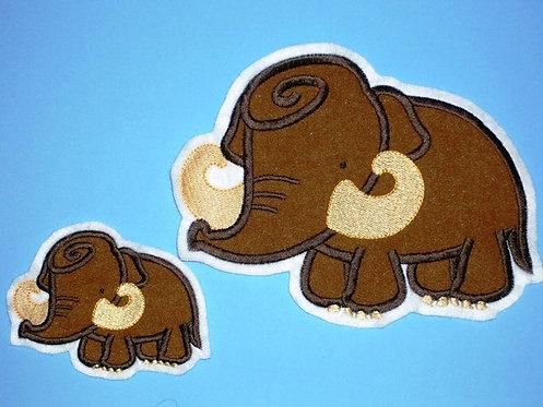 Mammut Aufnäher