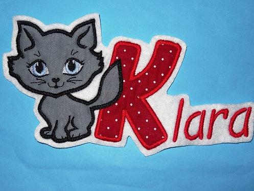 Katze mit Name