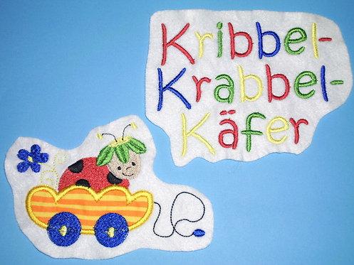 Krabbel Käfer Aufnäher