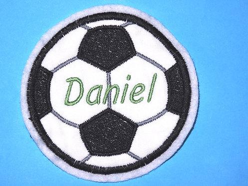 Namensbutton Fußball