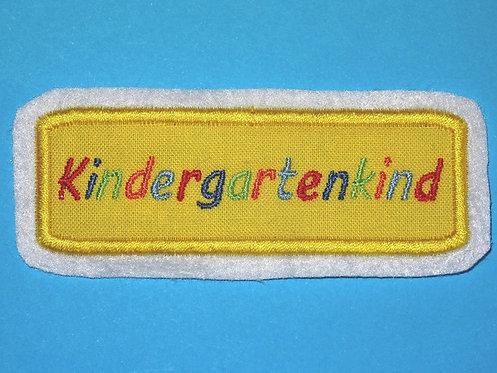 Kindergartenkind Aufnäher